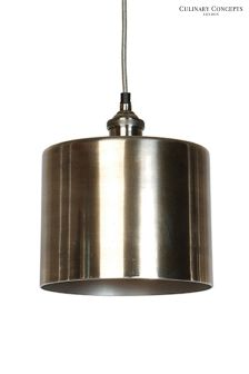 Culinary Concepts Cylindrical Moderne Prohibition Pendant