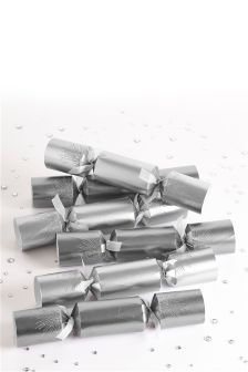 Set Of 6 Silver Crackers