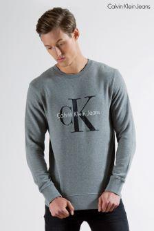Calvin Klein Grey Crew Neck Sweatshirt