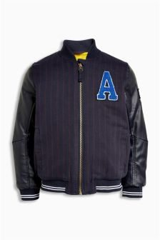 Varsity Bomber Jacket (3mths-6yrs)