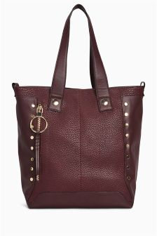 Studded Shopper