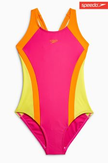 Speedo® Contrast Swimsuit