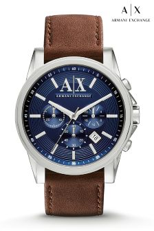Armani Exchange Blue Dial Outerbanks Watch