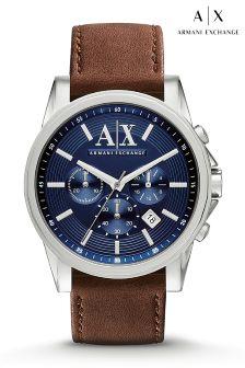 Blue Armani Exchange Blue Dial Watch