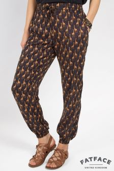 Fat Face Phantom Giraffe Printed Trouser