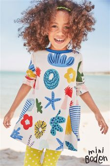 Boden Natural Printed Tunic