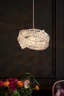 Ceiling lights chandeliers led ceiling lights spotlights next venetian easy fit pendant mozeypictures Gallery