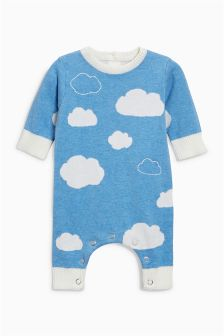 Cloud Knitted Romper (0mths-2yrs)