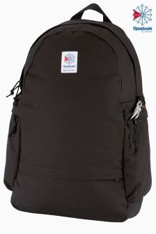 Reebok Classics Black Canvas Backpack