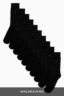 Cushion Sole Socks Ten Pack