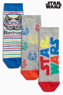Star Wars™ Socks Three Pack (Younger Boys)