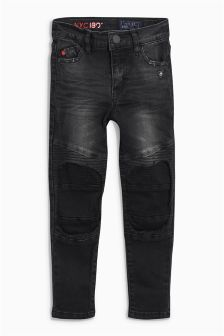 Skinny Biker Jeans (3-16yrs)