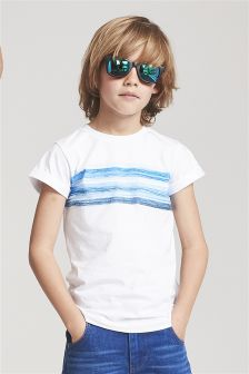 Sea Stripe T-Shirt (3-16yrs)