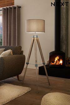 Alpine Tripod Floor Lamp