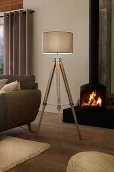 Alpine Tripod Floor Lamp