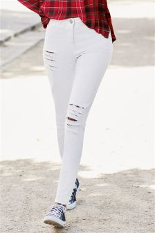 Buy Jeans White from the Next UK online shop