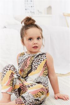 Animal Print Playsuit (9mths-8yrs)