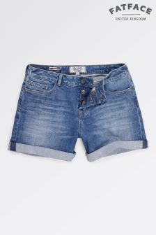 Fat Face Blue Sky Denim Short