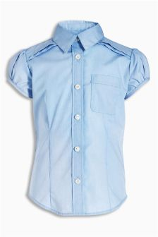 Short Puff Sleeve Blouse (3-16yrs)