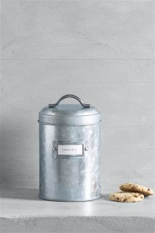 Galvanised Storage Tin
