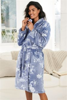 Supersoft Print Robe