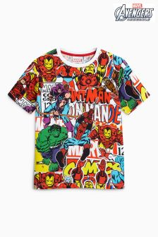 Avengers All Over Print T-Shirt (3-16yrs)