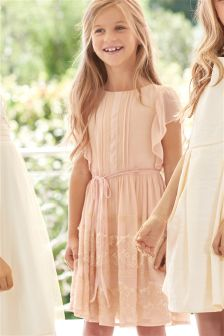 Pintuck Dress (3-16yrs)