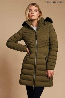 Tommy Hilfiger Green New Nikki Coat