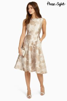 Phase Eight Cream Danica Dress