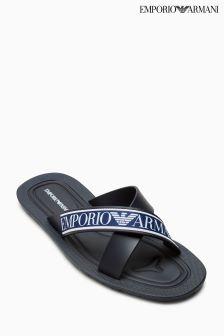 Emporio Armani Navy Zuck Sandal