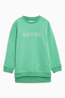 Keep It Real Sweat Top (3-16yrs)