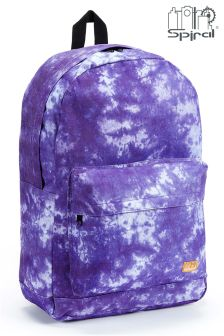 Spiral Tie Dye Backpack