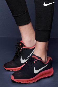 Nike Black/Pink Air Max 2017
