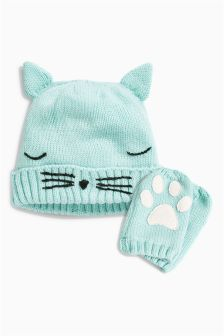 Beanie Two Piece Set (Younger Girls)