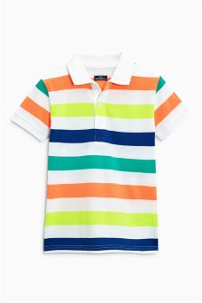 Stripe Polo (3mths-6yrs)