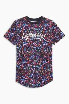 Lighten Up All Over Print T-Shirt (3-16yrs)
