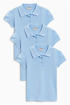 Poloshirt Three Pack (3-16yrs)
