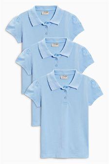 Poloshirt Three Pack (3-16yrs)