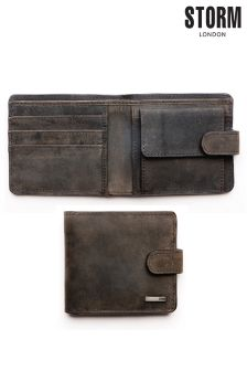 Brown Storm Noakes Leather Wallet