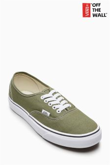 Vans Moss Green Authentic