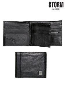 Black Storm Brompton Leather Wallet