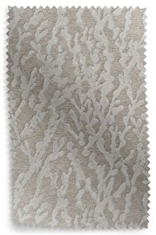 Pussy Willow Silver Fabric Roll