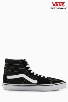 Vans Black/White Old Skool Sk8 Hi