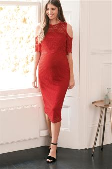 Maternity Lace Bodycon Dress