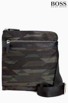 Boss Hugo Boss Camo Print Side Bag
