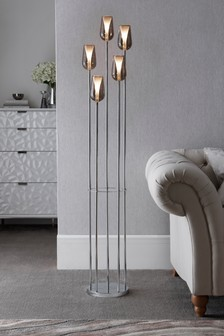 Cooper Smoke 5 Light Floor Lamp