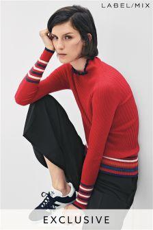 Mix/J.Won Stripe Rib Knit