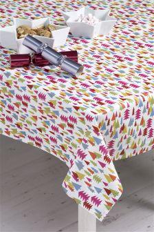 Tree Wipe Clean PVC Tablecloth