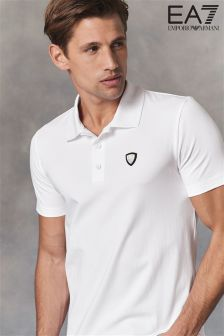 Emporio Armani EA7 White Shield Polo