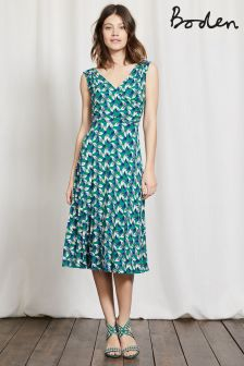 Boden Green Georgia Dress